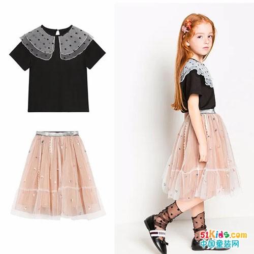 小女孩的春夏要怎么穿?时尚小鱼夏季新品上市