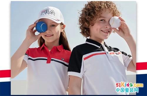 FILA 斐乐丨优雅小孩,网球派对见