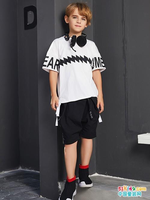 杰米熊品牌童装夏款上新,让小朋友清凉一夏