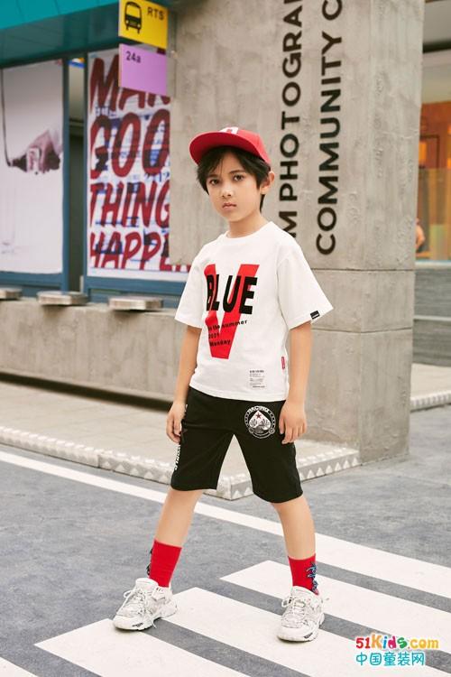 拉斐贝贝儿童服装 穿出街头酷帅风