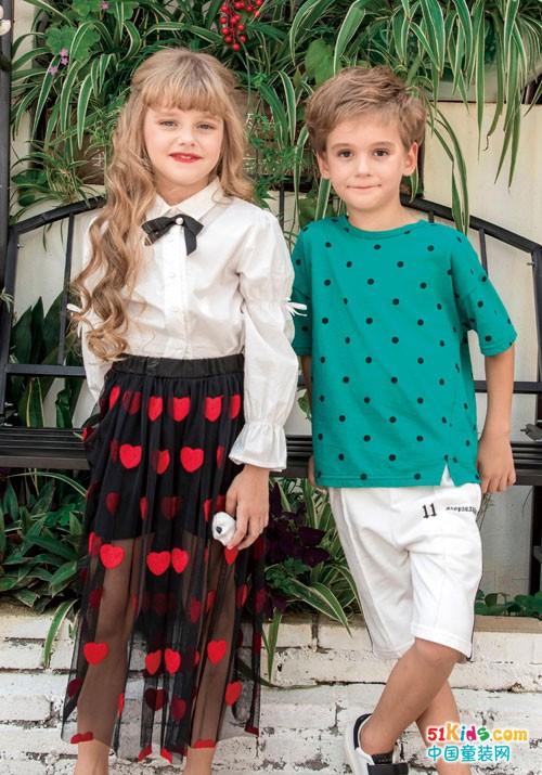 快乐精灵童装 童装界的快乐小网红
