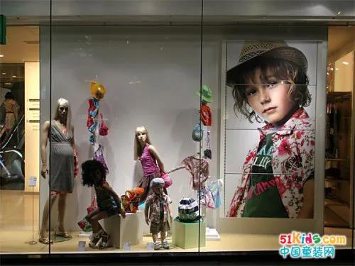 童装店橱窗陈列你需要这些干货