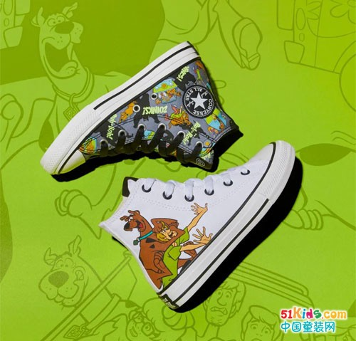 Converse x Scooby-Doo | 经典碰撞,续写冒险与成长