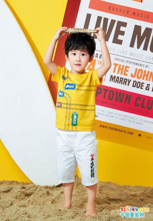 海威迩品牌童装 带来一个童趣满满的夏天