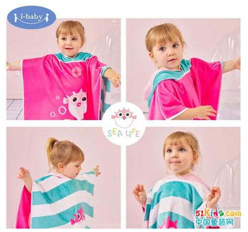柔软吸水不掉毛,这款颜值与实力并存的宝宝浴巾夏季必入!