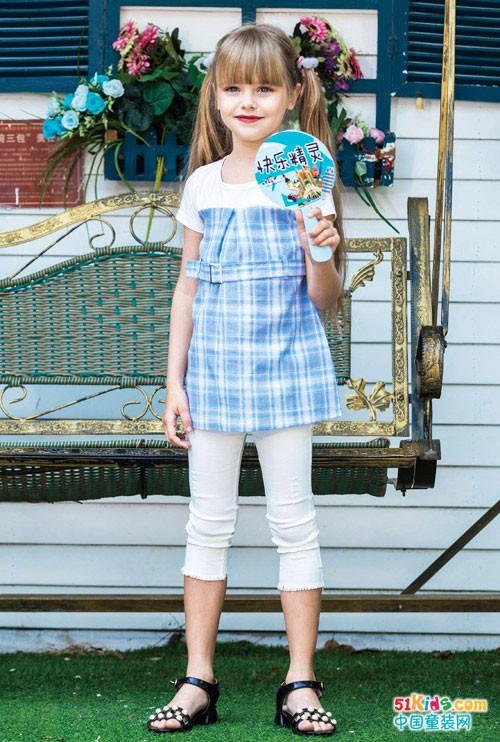 快乐精灵童装加盟 童装界的网红品牌店