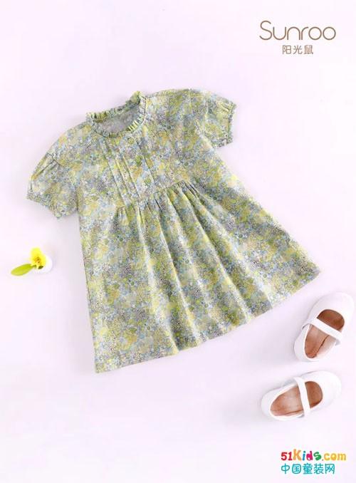 Sunroo天然精梳棉T恤,给宝贝一个清爽舒适的夏天