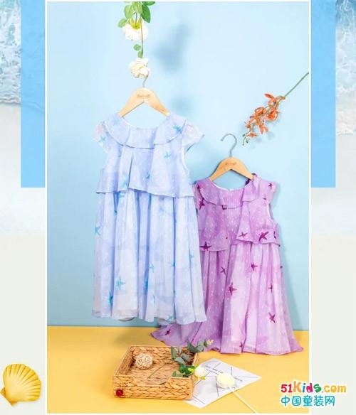 水孩儿梦幻海洋系列,一幅穿在身上的画卷