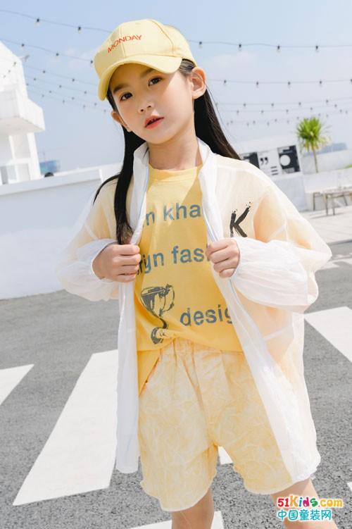 卡琪屋时尚童装 穿出家的温馨绚丽色彩