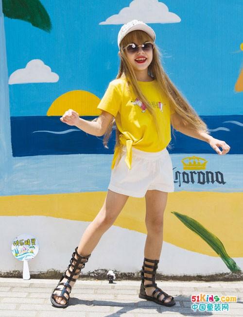黄色单品夏季如何搭配,快乐精灵教你怎么穿