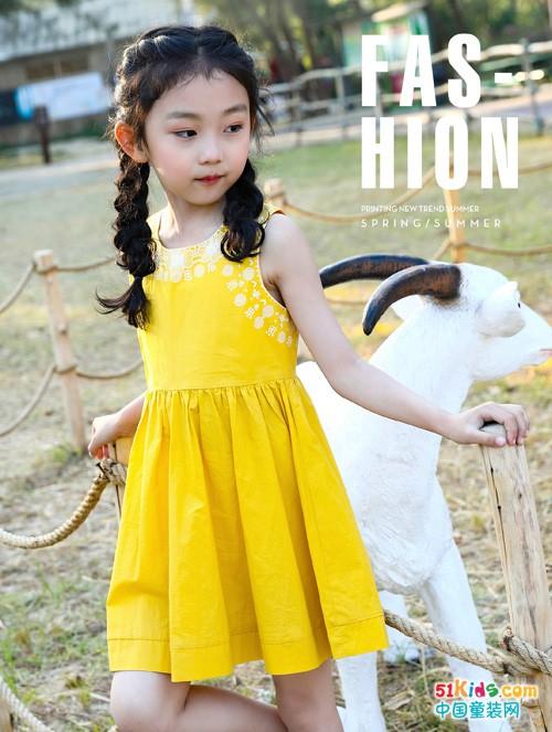 班吉鹿品牌童装亮丽上新,穿出早秋时节的小可爱范