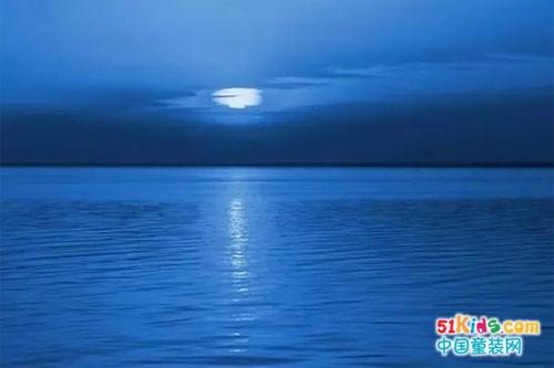 让宁静的蓝给妮优雅自信的力量