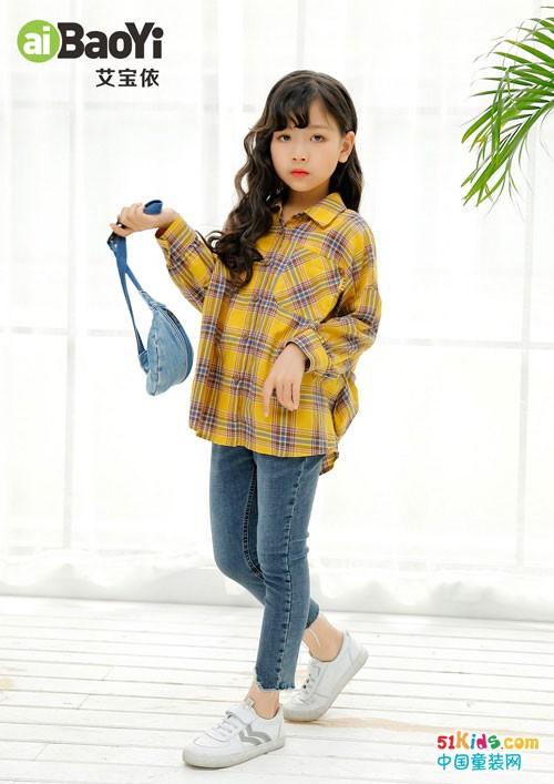 艾宝依2020秋季女童新品 小女生的最爱