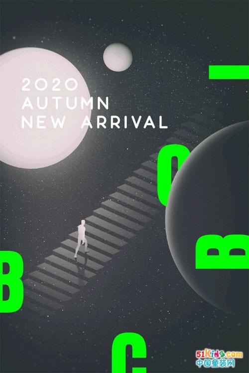 """不可比喻2020秋快反新品,潮酷登录""""BCOBI星球"""""""
