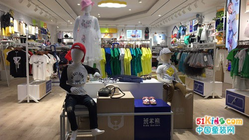 班米熊童装加盟 集成店模式打造高端加盟店