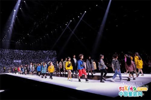 HEYONWYE鑫貝爾·2020-2021中國兒童羽絨服原創韓國設計師品牌發布秀
