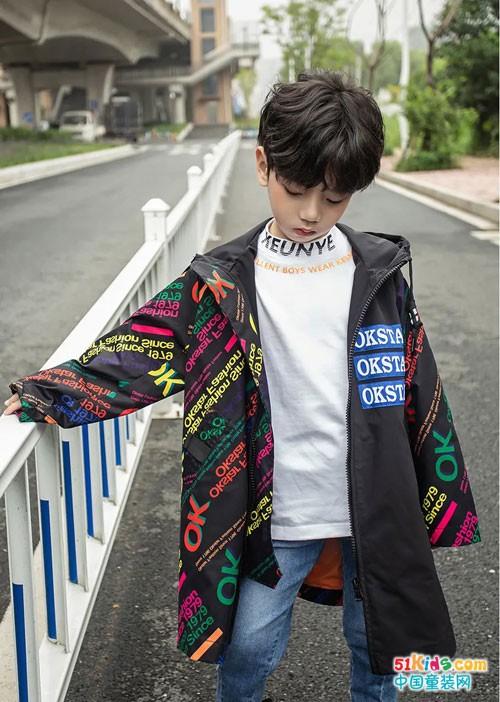欧卡星童装 解锁开学时尚新姿势