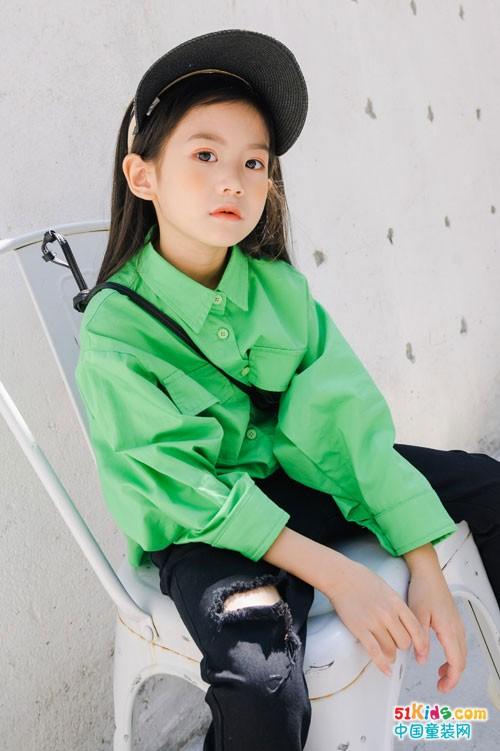 卡琪屋童装 是小朋友想象的潮酷样子