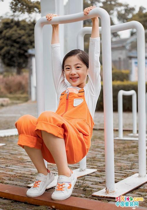 棉绘童装2020秋季新品 用橙色唤醒秋日时尚
