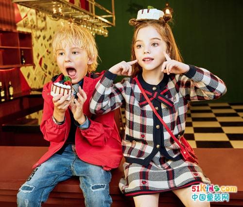 大牌童装的魅力 来自于暇步士品牌童装