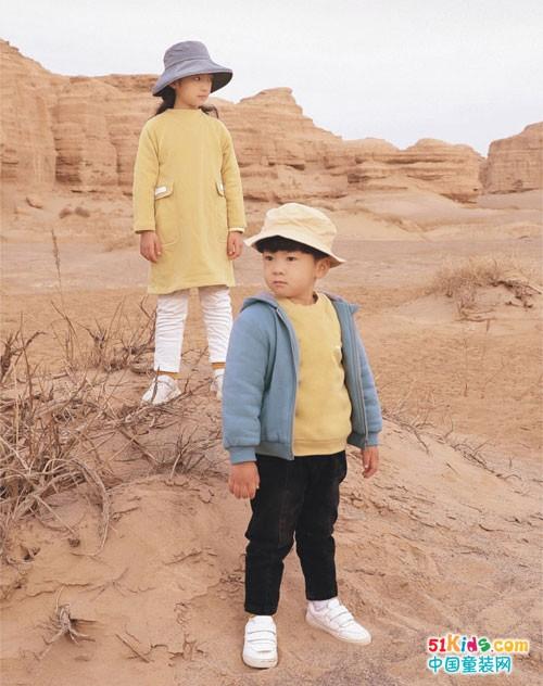 森虎儿童装以自然的哲思,追溯衣物原生之初的纯粹本质