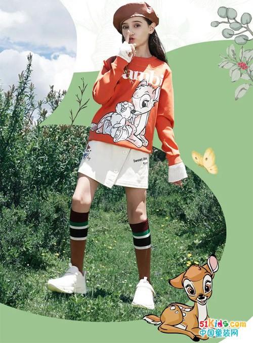 新品上市丨小鹿斑比,陪女孩勇敢长大!