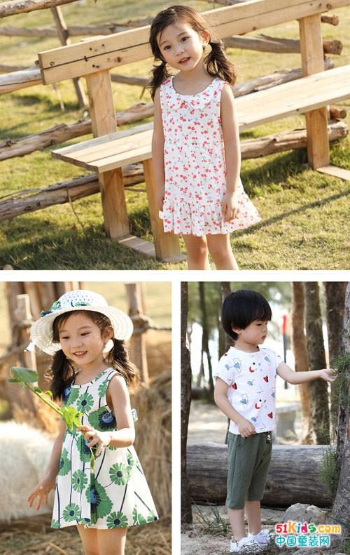 班吉鹿品牌童装 让小朋友变身清新可爱模样