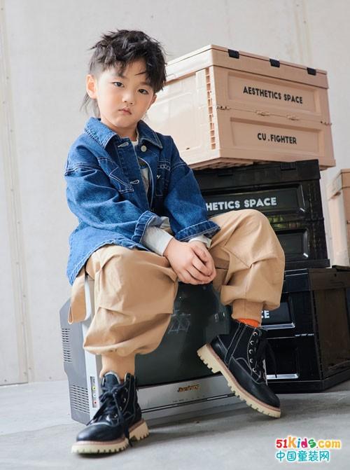 卡琪屋童装 时尚炫酷是秋天的理想状态