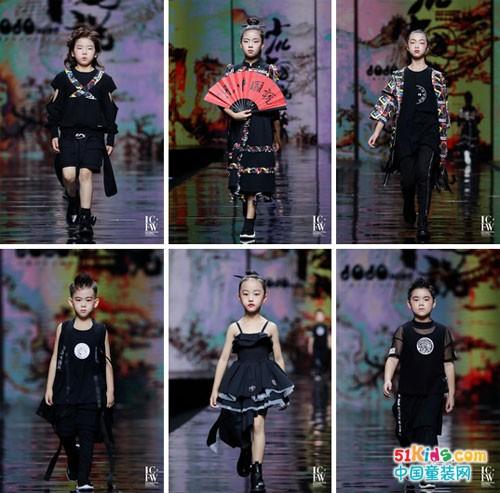 2020中国西南国际少儿时装周JOJO少儿中国说·赤子之美 荣获最具传承品牌大奖!