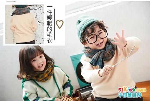 这个冬季你的宝宝缺一件暖心的毛衣