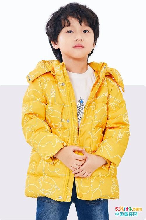 不能缺少的单品,巴柯拉男童羽绒外套值得入手