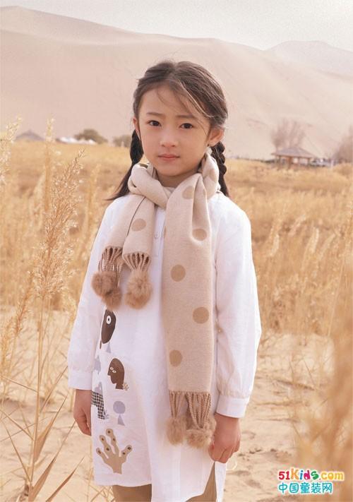 森虎儿童装 给冬季穿搭增添与众不同的视觉感受
