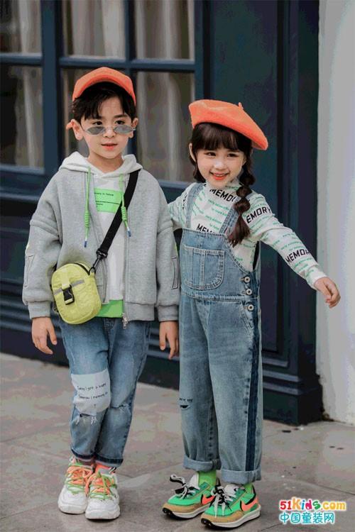 MEMORY IN兩個小朋友的秋冬牛仔穿搭手冊