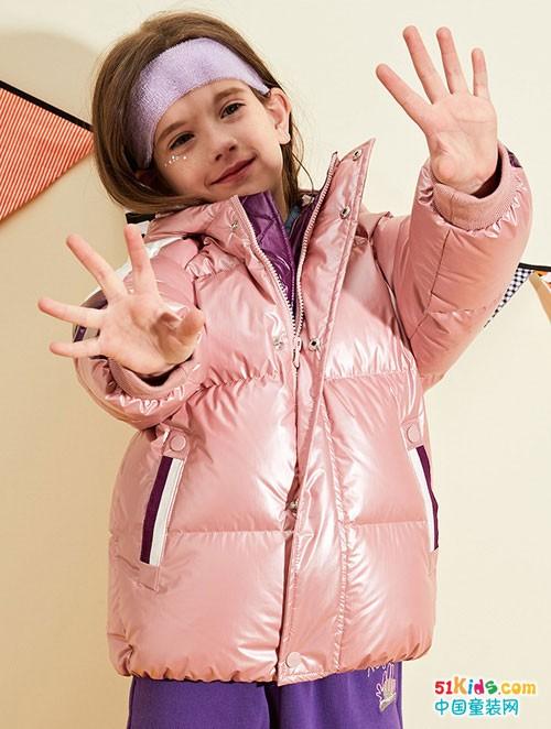 水孩儿2020冬装外套,洋气面包服加厚保暖