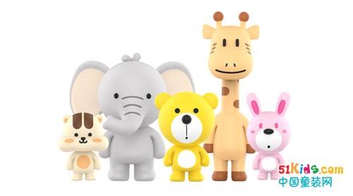韩国天团BOOGIE BEAR,五只家族角色高萌来袭