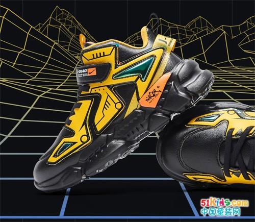 激战丨朋克少年的机能风运动潮鞋