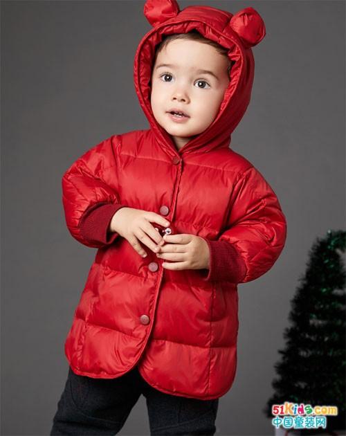岁末将至,卓儿童装一见倾心新年红!