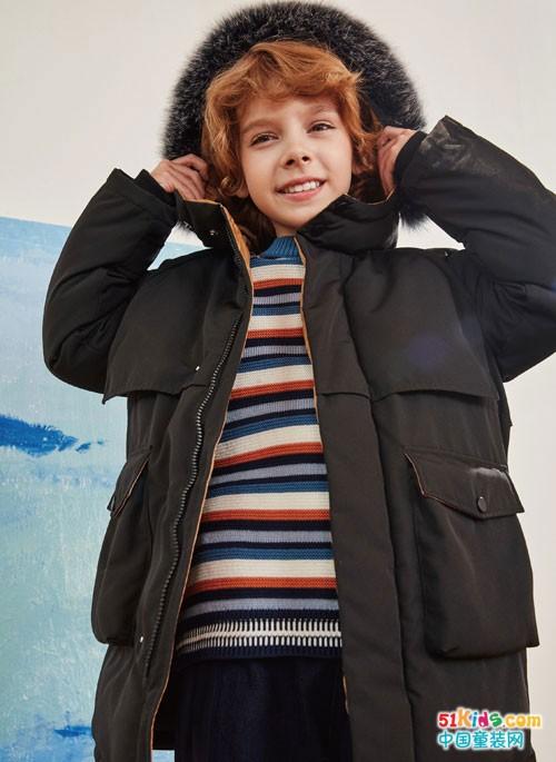 巴柯拉童装冬季新品上市,有你想要的温暖!