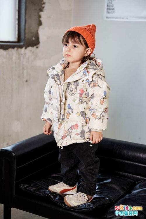 幼米心动款外套,要的就是又暖且有型!