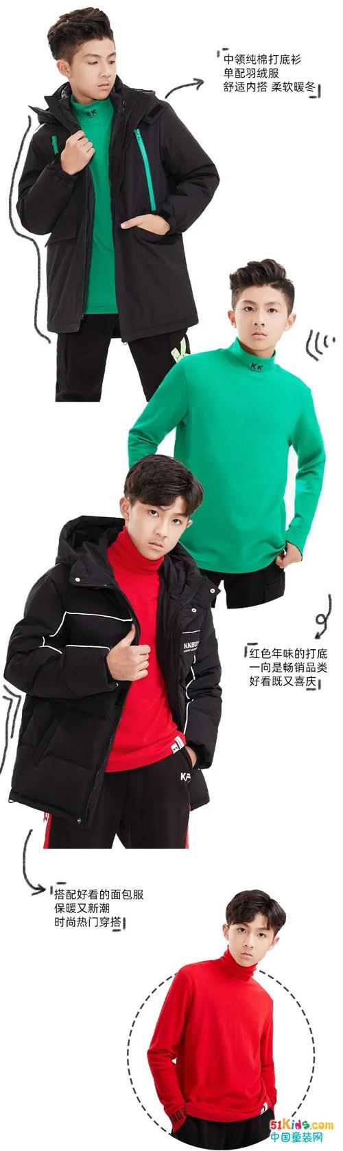 KK少年丨易搭好穿,羽绒外套的冬日穿搭之旅