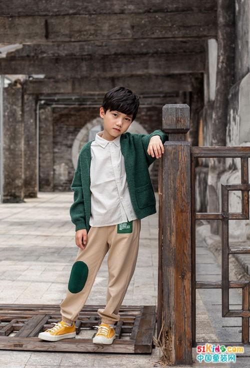 五九时节,看棉绘童装穿出简约风范!