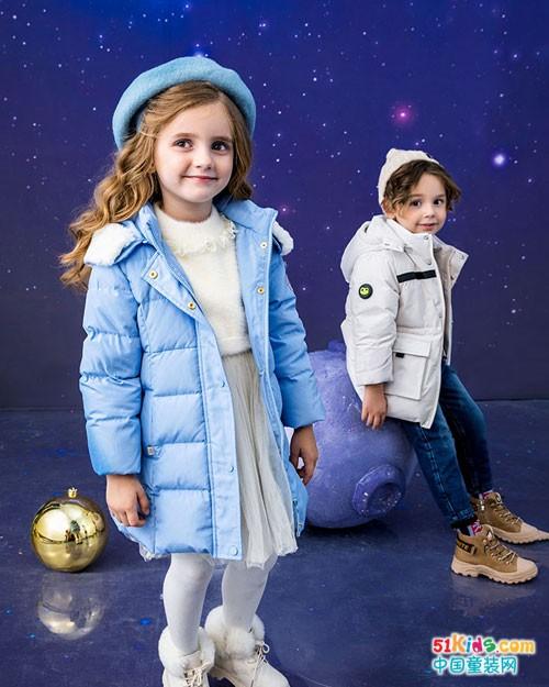青蛙王子童装 有温度的冬季时尚穿搭