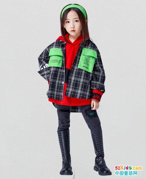新年要想穿的潮酷,还是JOJO童装