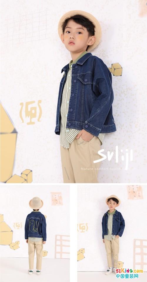 SHIJI莳季品牌童装,春天正在向我们招手而来