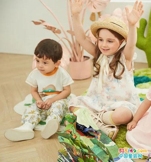 好孩子童装春夏新品上市 夏日的静谧