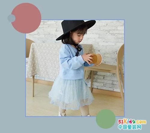 萌度童装特别推荐 春季的那一抹蓝