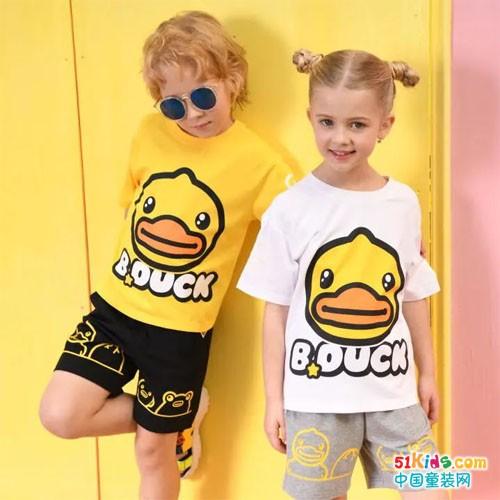 B.Duck小黄鸭摇转宝贝们的夏日缤纷色彩,一起放肆玩