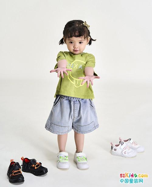 """沙驰童鞋:重视儿童""""第一步"""",每一位小天使快乐成长的重要伙伴"""