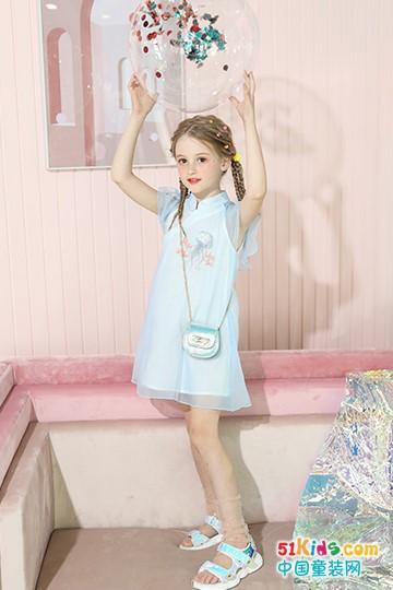 卡儿菲特:夏日浪漫公主裙来侵袭女孩们的公主心