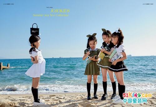 夏日游玩丨阳光、海浪、沙滩,还有JOJO童装夏日精品